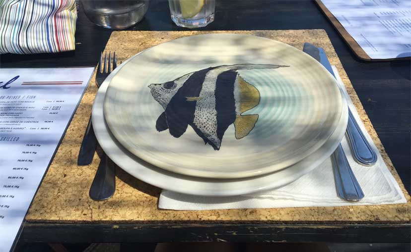 current obsession cerámicas restaurante sal pego comporta