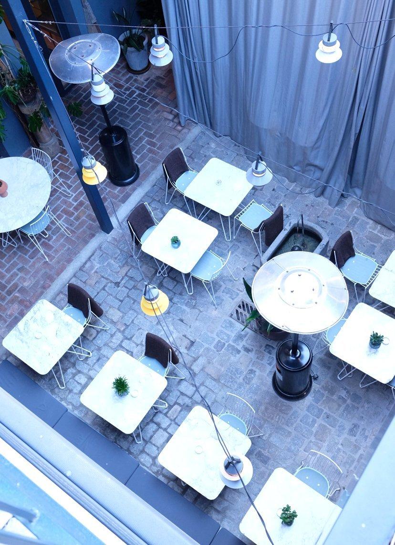 terraza de hotel barcelona
